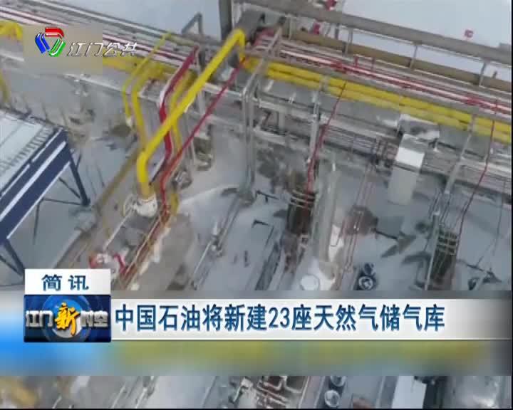 中国石油将新建23座天然气储气库