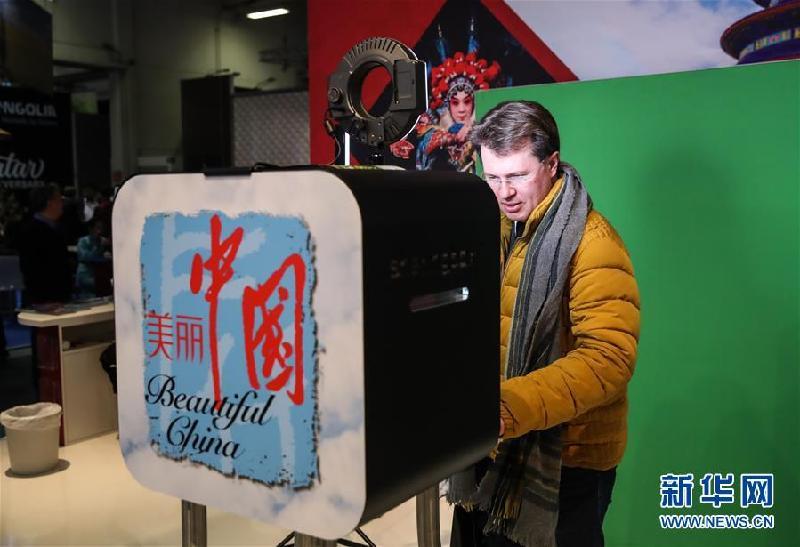 """中国展团在柏林国际旅游交易会展示""""美丽中国"""""""