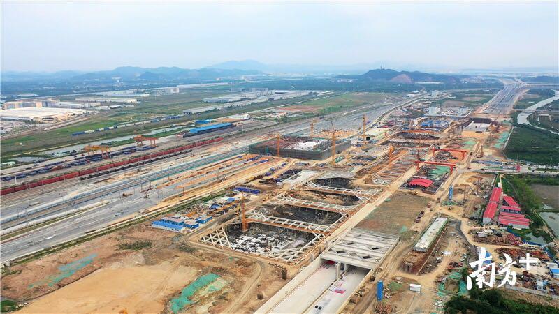 江门站有望明年2月运行,将成全省第四大轨道交通枢纽