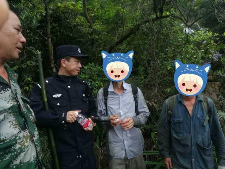 两男子上山采药被困深山两天两夜 新会台山两地民警连夜搜救