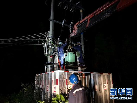 广东电网近九成用户恢复供电