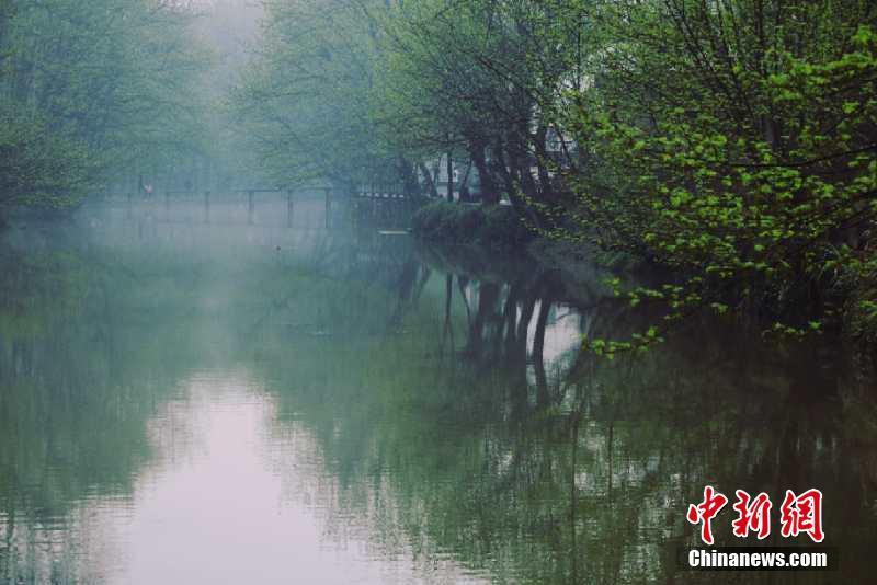 安徽黄山西溪南古村落:水墨田园