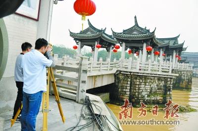 潮州广济桥被撞事件追踪:专家鉴定广济桥桥墩未受损