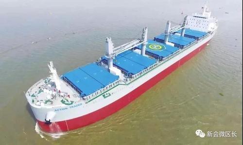 南洋船舶品牌船型近日顺利完成试航