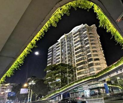 福建漳州安然桥夜色迷人