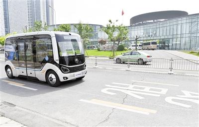 5G智能公交郑州试运行