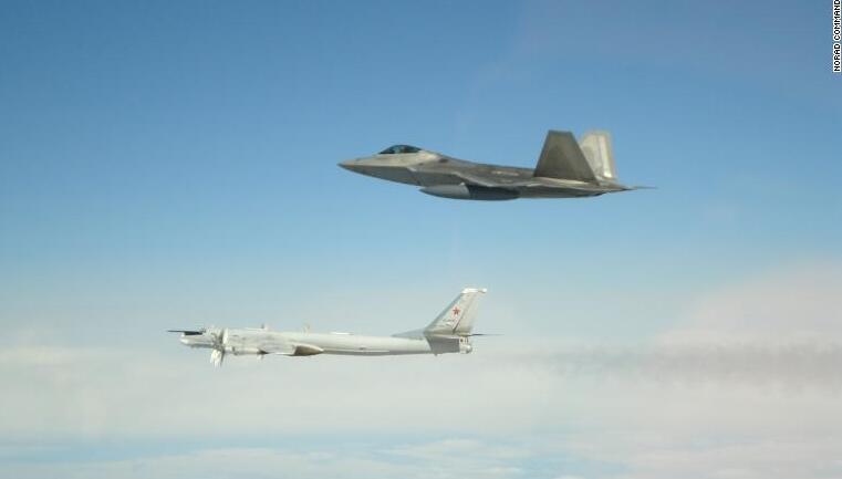 美军宣布拦截多架俄战机