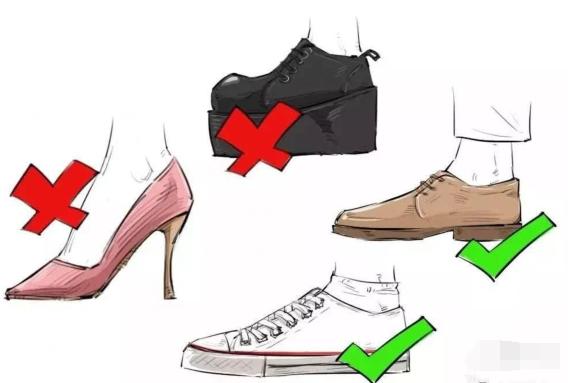 危险!女性驾车时千万别穿这些鞋