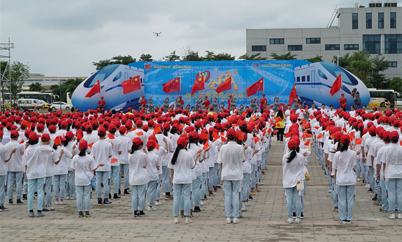 """新会:两千志愿者参与""""义爱全城""""创文活动"""