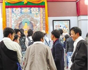拉萨藏文化体验活动吸引游客