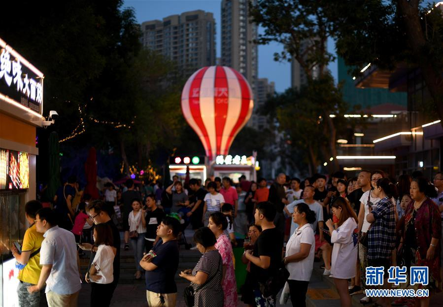 天津:畅游夜市