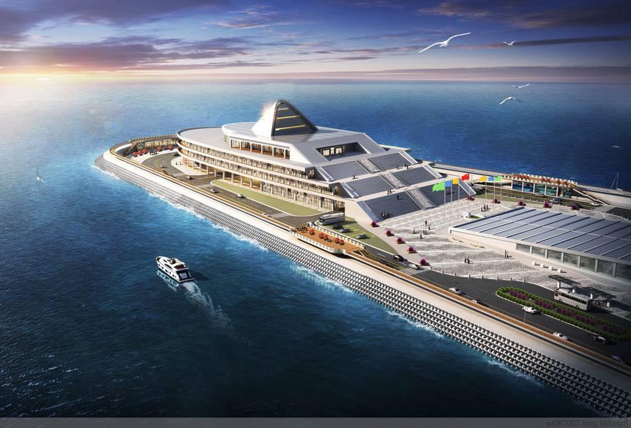 东人工岛将旅游开发