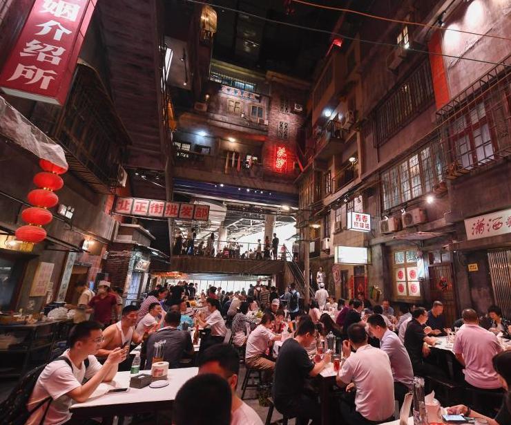 长沙网红怀旧主题餐馆