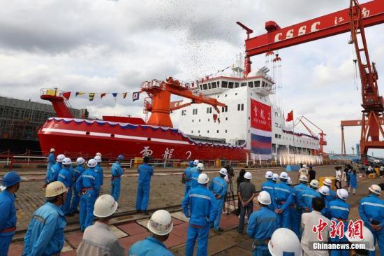 """中国极地科考船""""雪龙2""""号圆满完成ぷ海上""""初考"""""""