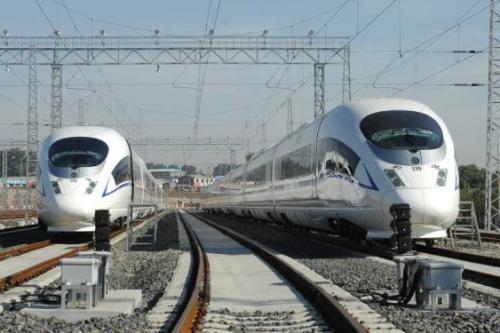 广深之间规划第二高铁 20分钟连通宝安、白云机场