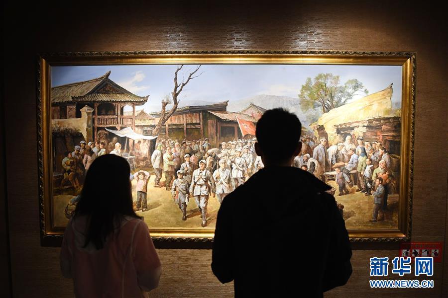 甘肃宕昌:哈达铺迎来红色旅游热