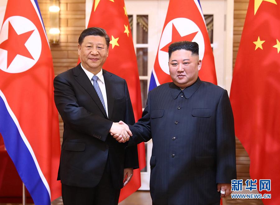 共同开创中朝两党两国关系的美好未来