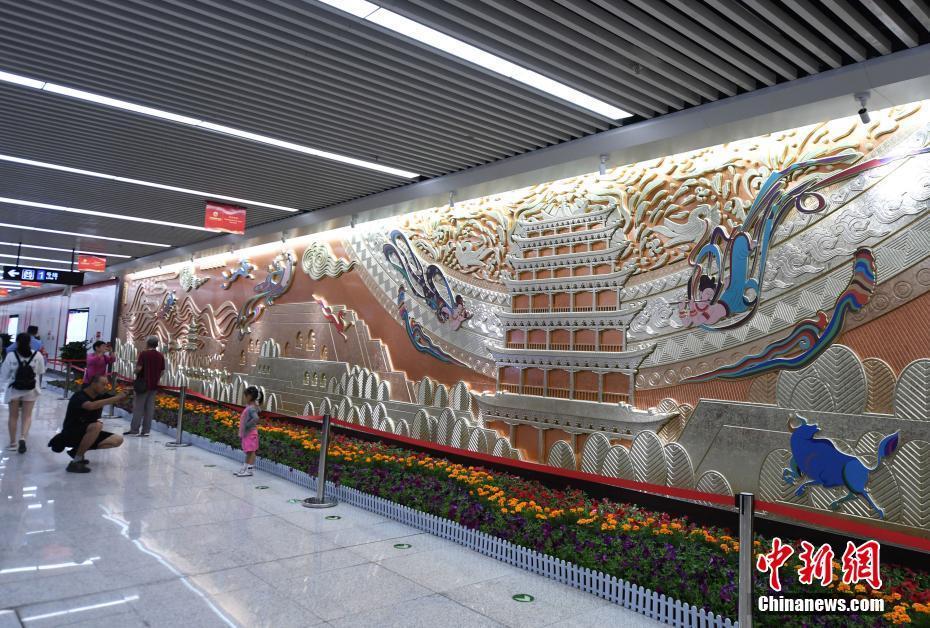 中国首条下穿黄河地铁