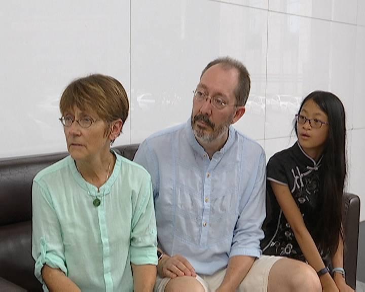 女孩从美国回江门寻亲 12年前被遗弃在蓬江区良化西