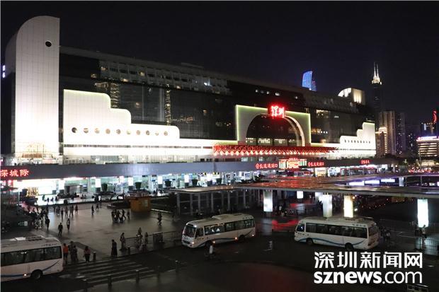 深圳站将开行首趟跨线长途动车组列车
