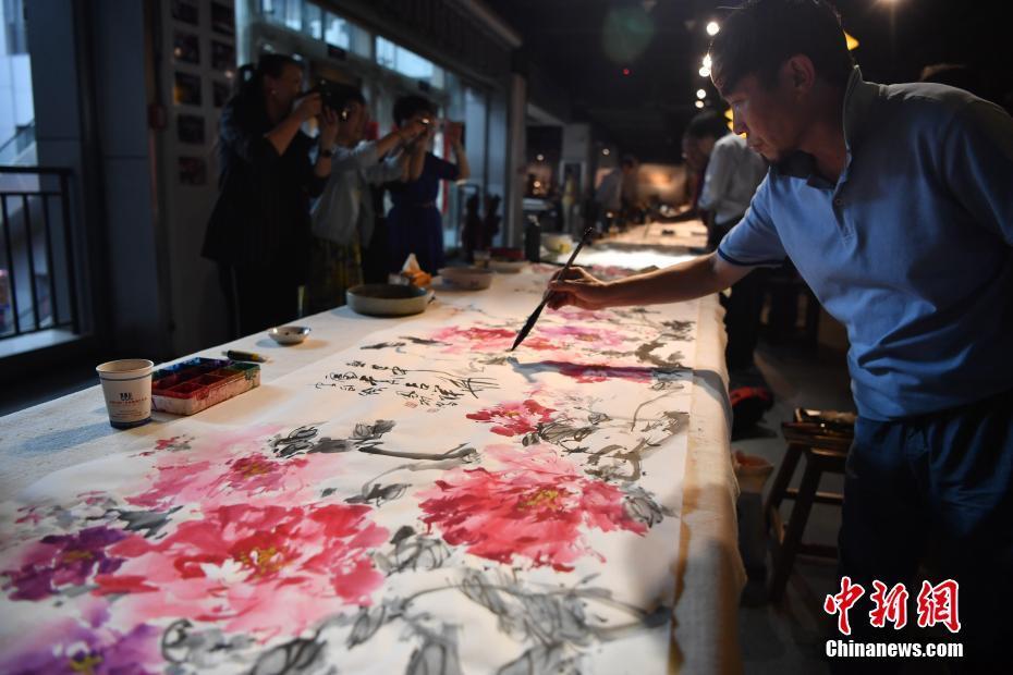 兩岸藝術家聯合創作