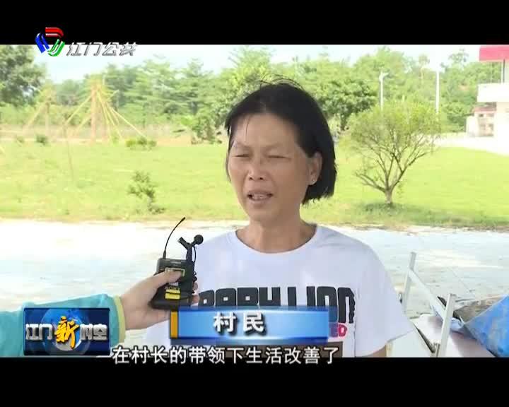 台山桥头村民同心协力  乡村振兴促进发展