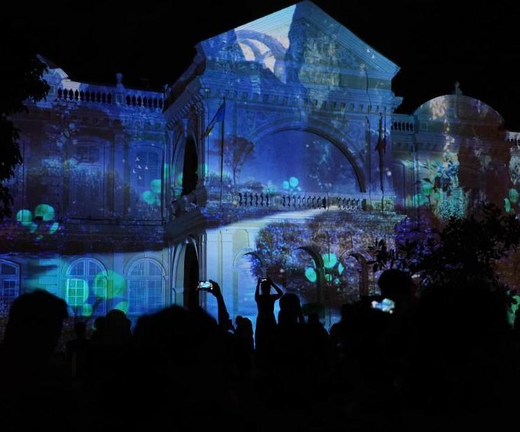 马来西亚艺术节灯光秀