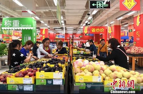 水果市场供给总量充足