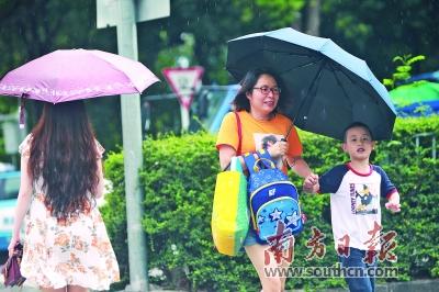 广东未来几天还有暴雨 高温仍持续