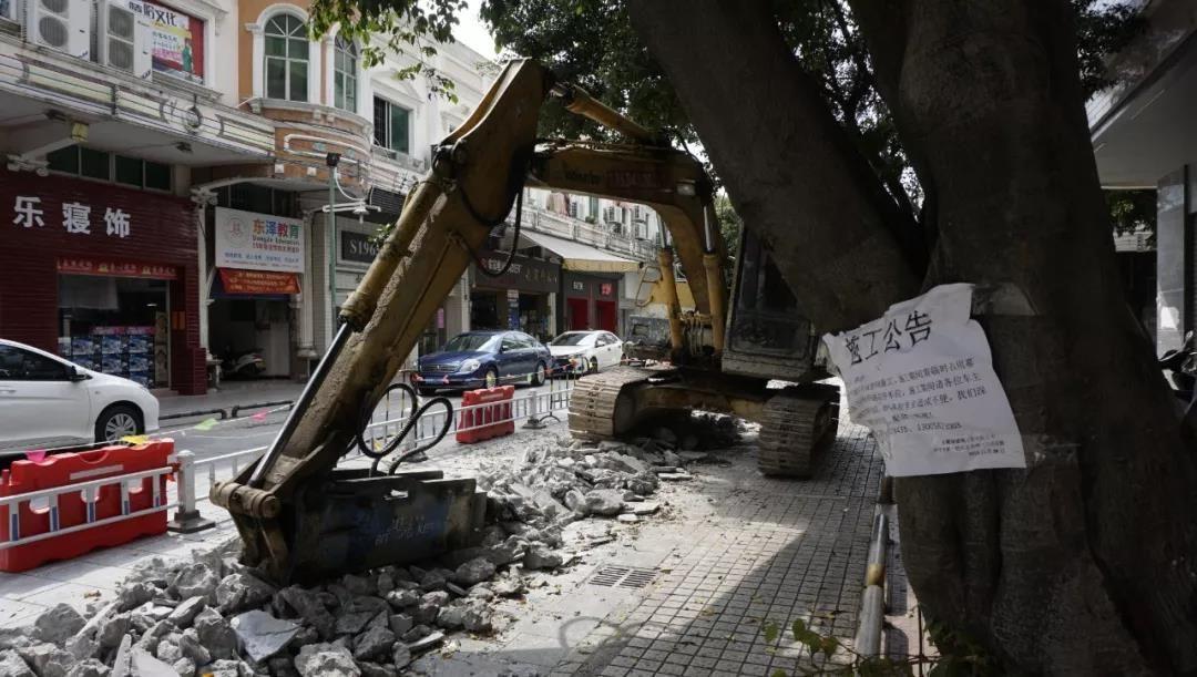 幕涌東路因施工需要7月實行臨時交通管制
