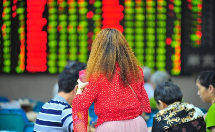 A股放量暴跌:三大股指跌逾2%,題材股走低,北向資金流出