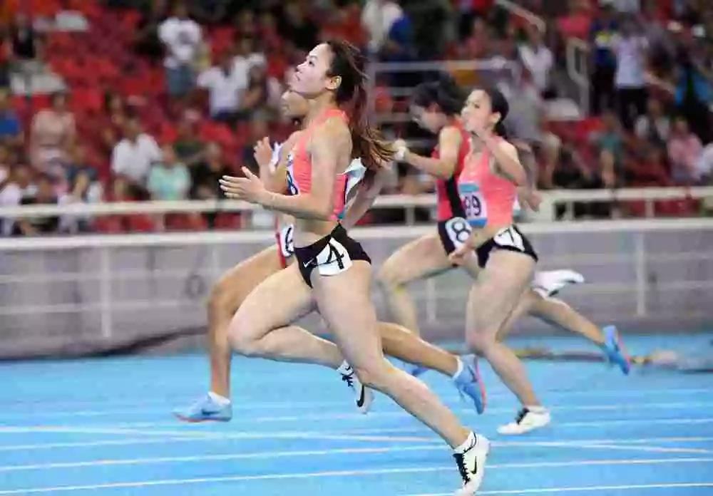 广东女将为省代表团金牌数添至一百