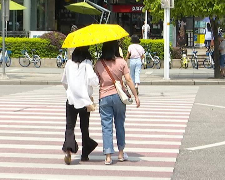 未来几天我市雷雨频繁高温有所缓解