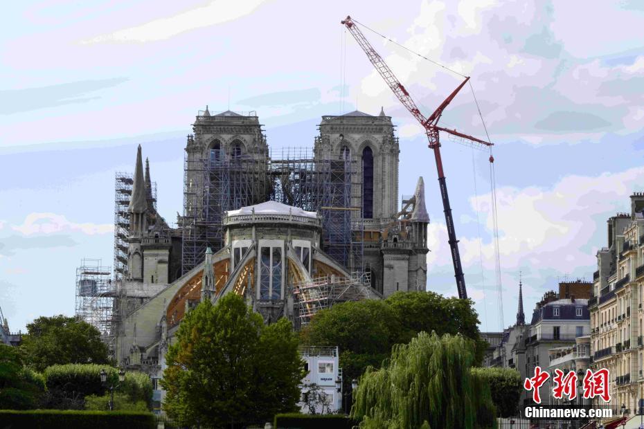 巴黎圣母院維修工程重新啟動