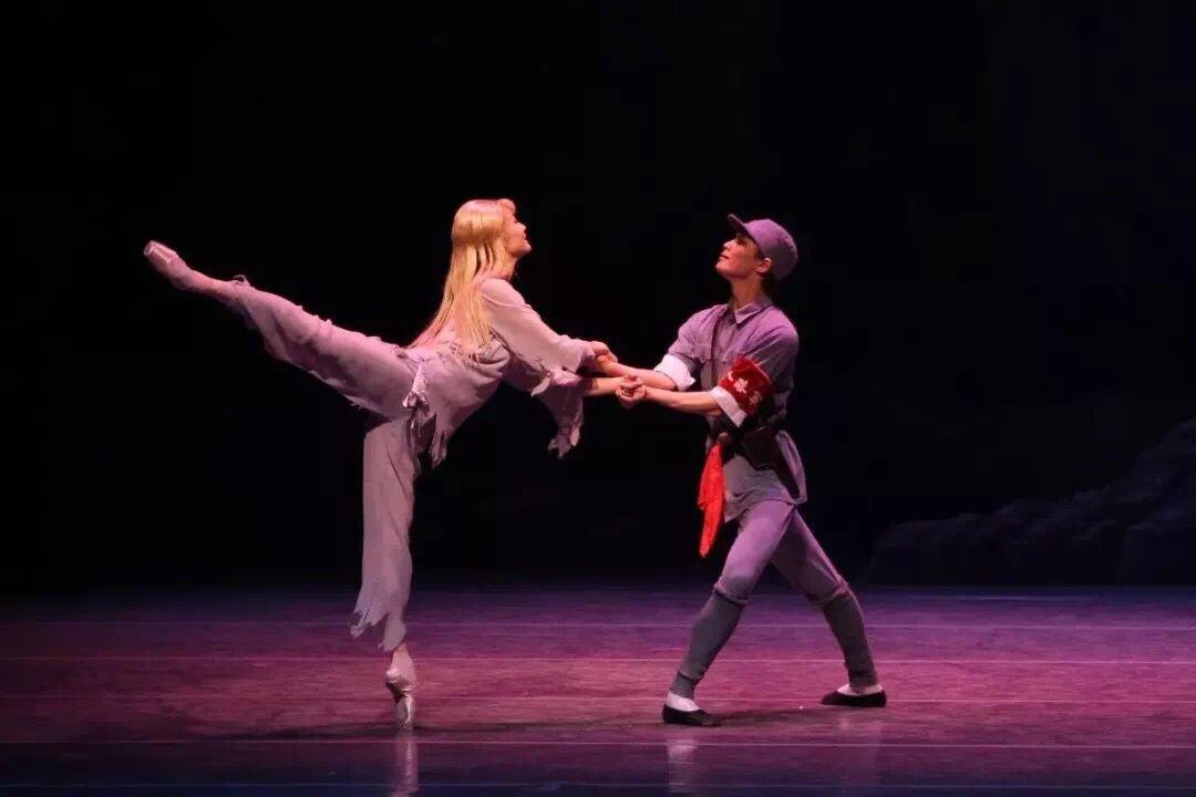 上海芭蕾舞团舞剧《白毛女》首次在江门演出