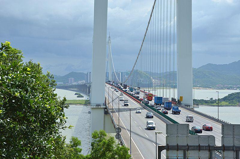 虎门大桥今起限行货车本月16日恢复