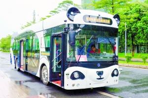 广州自动驾驶公交月中上路,可试乘