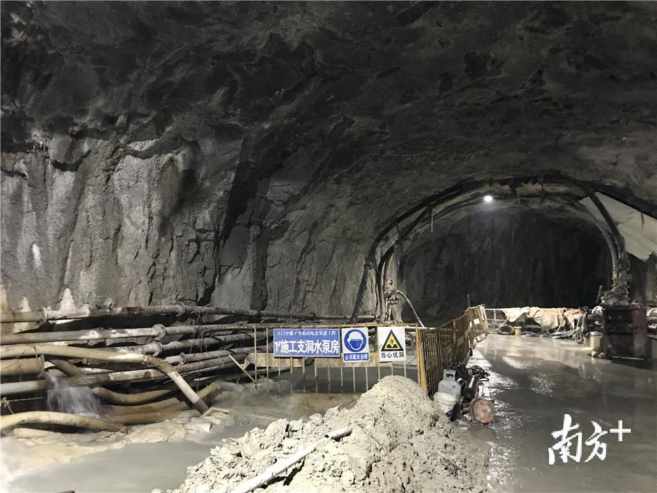 江门中微子项目有新进展 世界最大跨度地下实验厅关键部位开挖