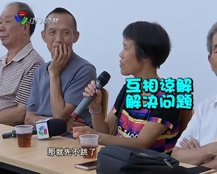 社区发言人走进长塘社区