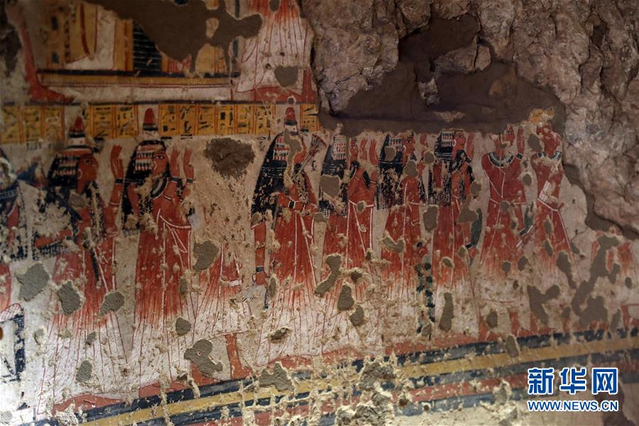 埃及3300年古墓开放