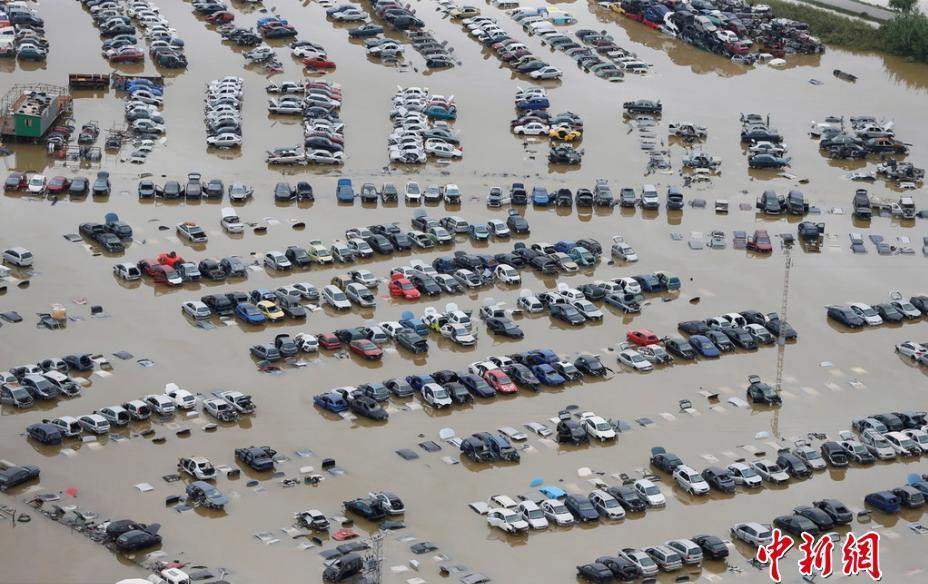 西班牙洪水肆虐