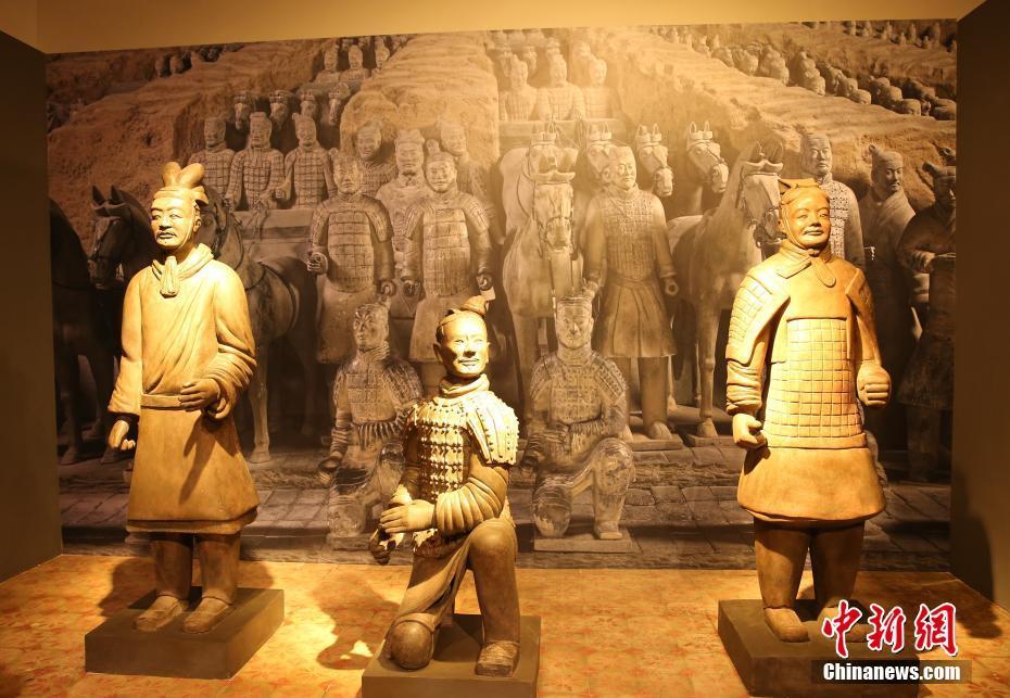 秦兵马俑展在泰国展出