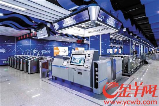 广州地铁21号线9月底开通? 不少站厅已准备就绪