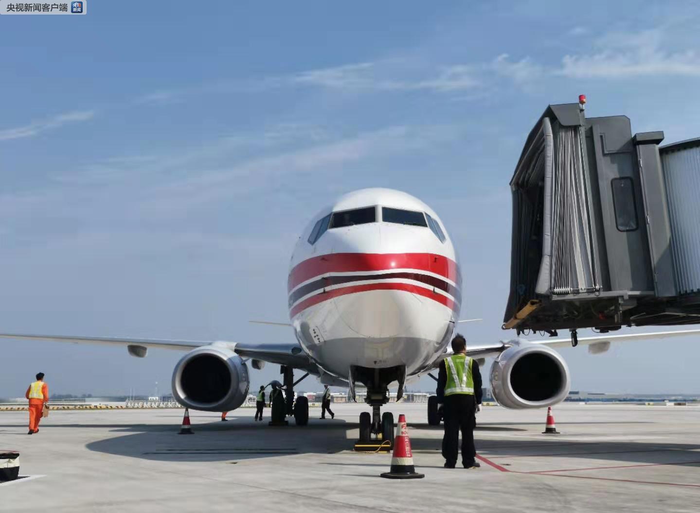 北京大兴国际机场迎来第三阶段试飞