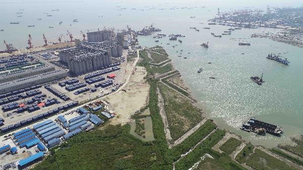 总投资17.74亿!广州港南沙港区粮食及通用码头?#27425;?#25193;建工程动工