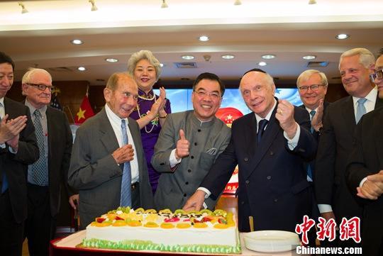 海外华侨华人多?#20013;?#24335;庆祝新中国成立70周年