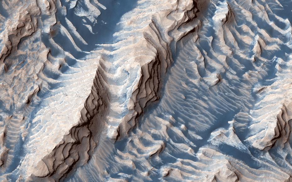 火星上的蓝色沙子