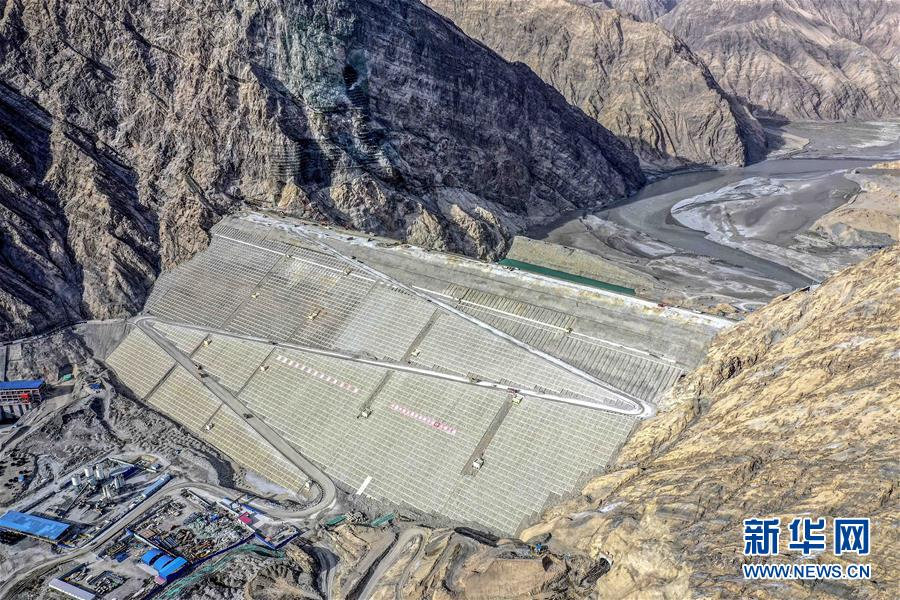 """""""新疆三峽""""主體完工 葉爾羌河流域將告別千年水患"""