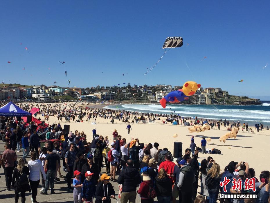 澳大利亚最大风筝节