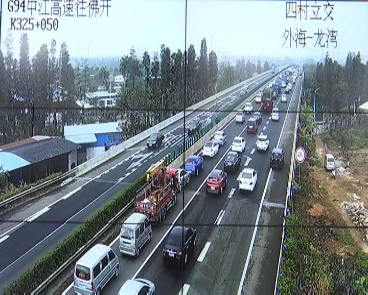 江门高速车流明显增加交警支招避堵